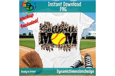 Softball Mom PNG, Softball Cut File, png, Softball Mom shirt, Paint St