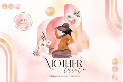 Mother Collection. Modern graphic