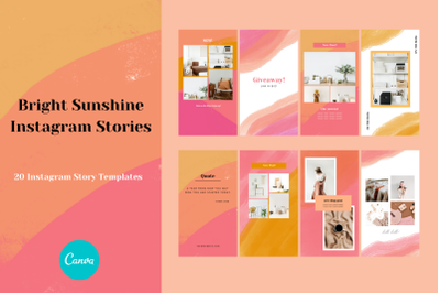 Bright Sunshine Instagram Story
