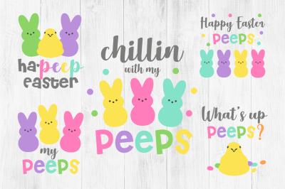 Peeps SVG, Easter SVG