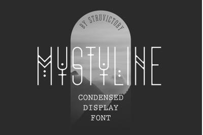 Mystyline - Thin Line Condensed Font
