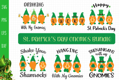 St. Patricks Day Gnomes Bundle