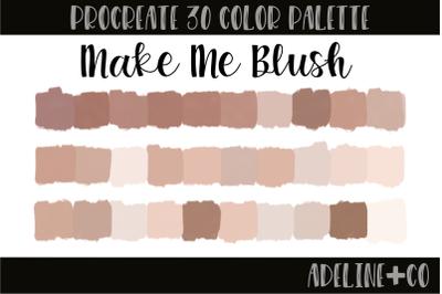 30 color Make Me Blush palette