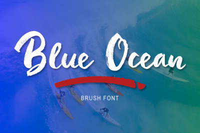 Blue Ocean Brush