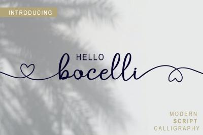 bocelli script