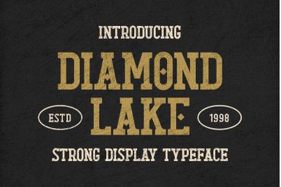 Diamond Lake - Strong Display Typeface