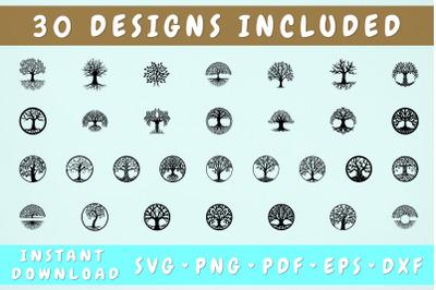 Tree of Life SVG Bundle - 30 Designs