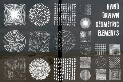 Hand Drawn Geometric Elements