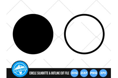 Circle SVG | Basic Shape Circle Silhoutte Cut File