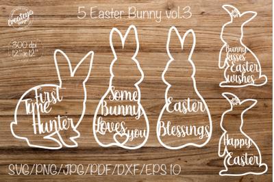 Easter svg. Easter bunny svg. Some Bunny Loves you.