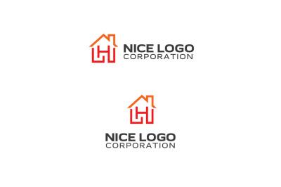 h house logo