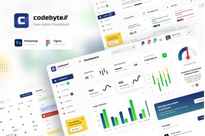 Codebyte - Saas Admin Dashboard UI