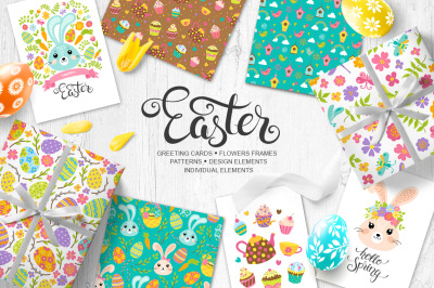 Easter vector collection