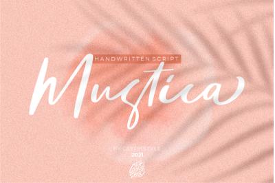 Mustica Handwritten Script