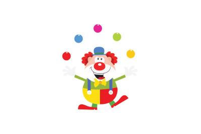 Amusement Parks clown Icon