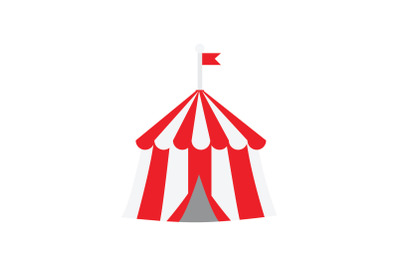 Amusement Parks circus tent Icon