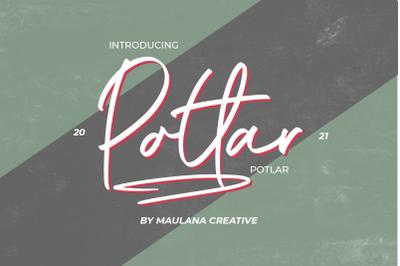 Potlar Signature Script Font