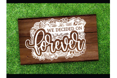Wedding Flower SVG cut