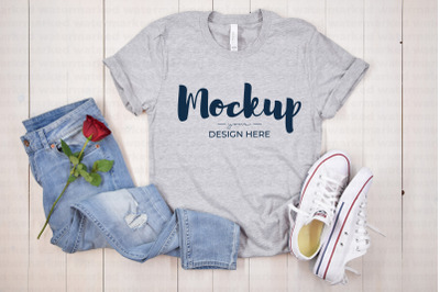Valentine T-Shirt Mockup