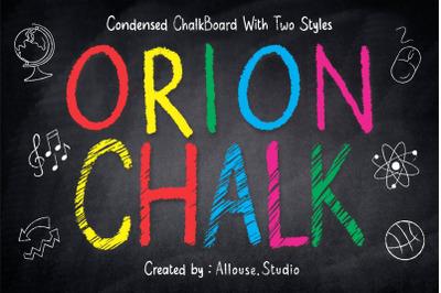 Orion Chalk - Natural Chalkboard