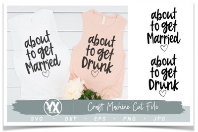 About to Get Married SVG Bundle
