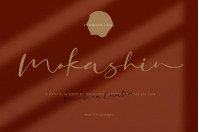 Mokashin Fancy Script Font
