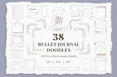Bullet Journal Doodles Pack