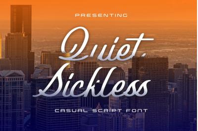 Quiet Sickless