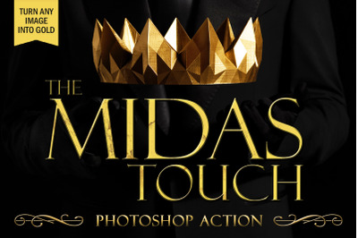 The Midas Touch Photoshop Action