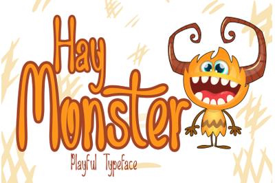 Hay Monster