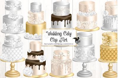 Wedding Cakes Clipart