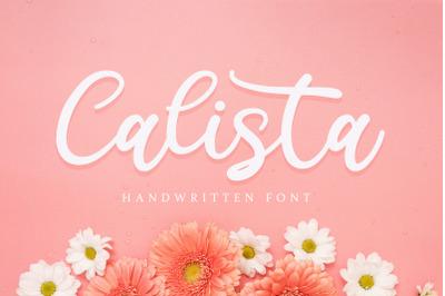 Calista - Handwritten Font