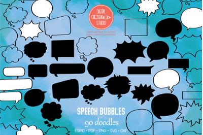 Speech Bubbles | Comic Book Talk, Thinking Cloud
