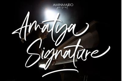 Amatya Signature