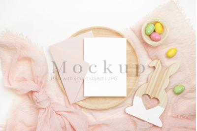5x7 Card Mockup,Easter Card Mockup