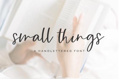 Small Things Script