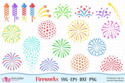 Fireworks SVG, Eps, Dxf ,Png