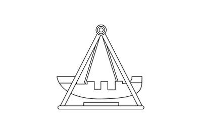 Amusement Parks Kora - Kora outline icon