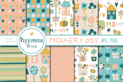 Mothers day paper set
