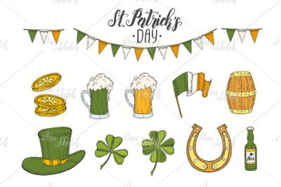 St Patrick's day set