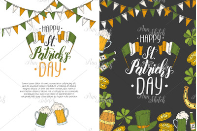 2 St Patrick's day cards