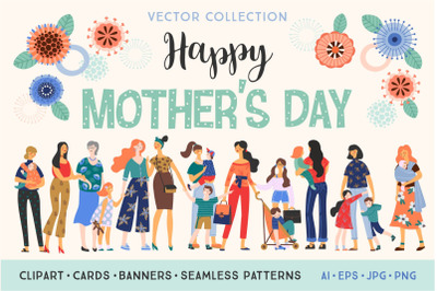 Happy Mother's Day collection.
