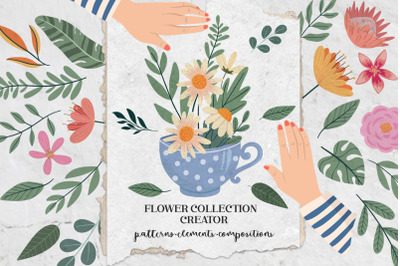Flower Collection Creator