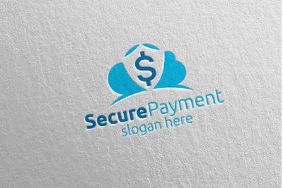 Cloud Online Secure Payment Logo 2