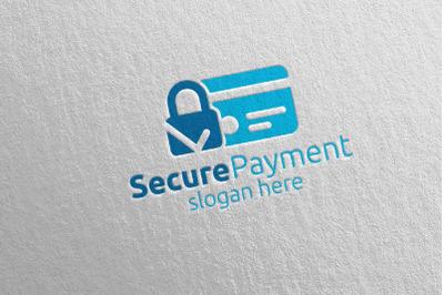 Lock Online Secure Payment Logo