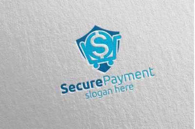 Shopping Online Secure Payment Logo 7