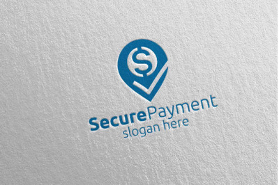 Pin Online Secure Payment Logo 8