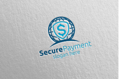 Global Online Secure Payment Logo 12