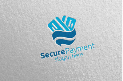 Global Online Secure Payment Logo 13
