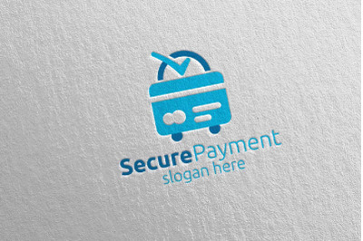 Shopping Online Secure Payment Logo 16